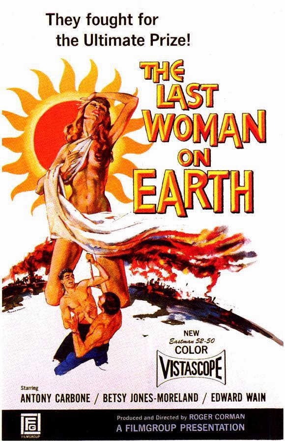Portada película La última mujer sobre la Tierra