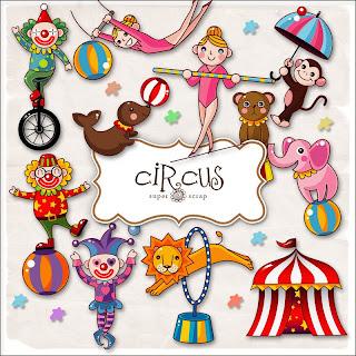 circo - {Kits Digitais} Circo, Palhaço, Patati, Patatá View