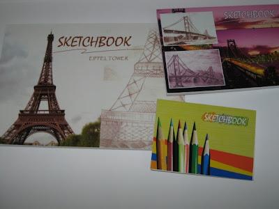 alat gambar arsitektur, jenis-jenis sketchbook, ukuran sketchbook, a3, a4, a5, buku gambar