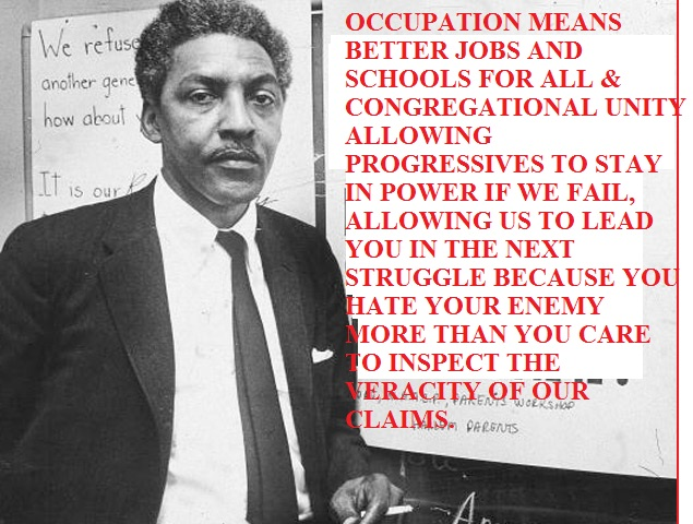bayard rustin a choice to be When bayard rustin, the often-unsung hero of the civil rights  journalist steven  thrasher asserts that rustin supported king in his decision to.