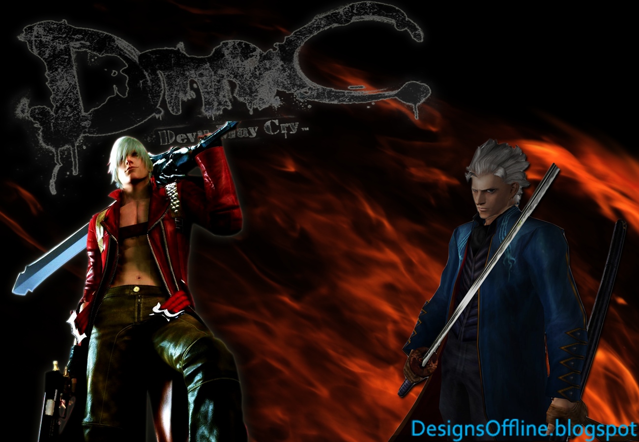 Wallpaper Devil May Cry Dante Vergil