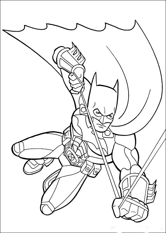 batman coloring pictures for kids