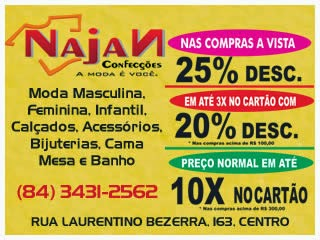 NAJAN CONFECÇÕES