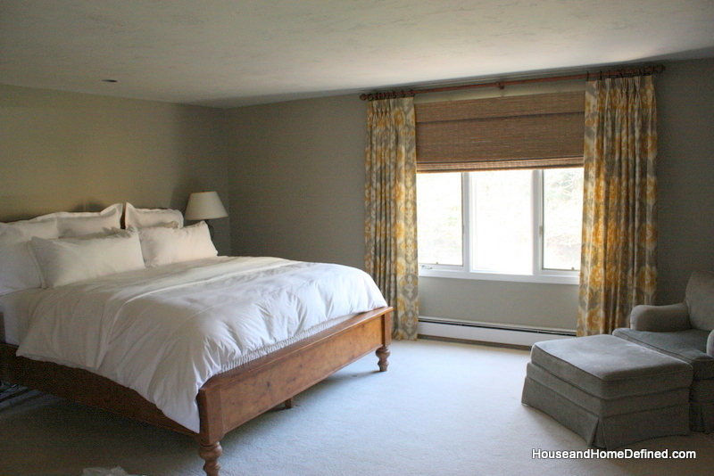 Carol beck home before and after master bedroom and - Light green master bedroom ...