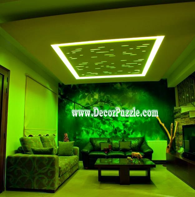 False ceiling pop design for living room plaster of paris for Plaster of paris ceiling designs for living room