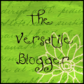 Versatile Blogger Award -- YAY!!