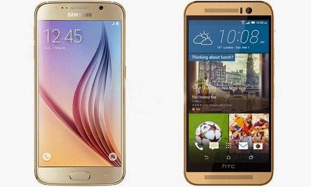 مقارنة بين العملاقين: غالاكسي S6 أم HTC M9 أيهما تختار؟