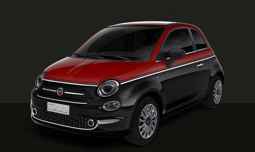 fiat 500 restyl e 2017 couleurs colors. Black Bedroom Furniture Sets. Home Design Ideas