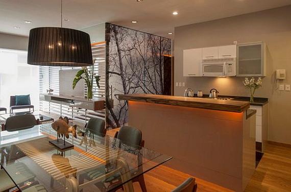 Inspirantes Idées De Décoration Petit Appartement Décor De - Decoration sejour cuisine ouverte pour idees de deco de cuisine