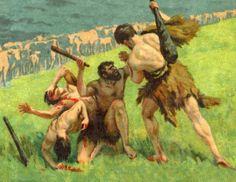 Hercule vole les boeufs de Géryon