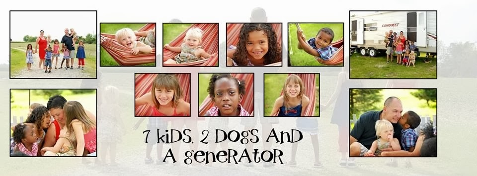 7 Kids, 2 Dogs, and A Generator