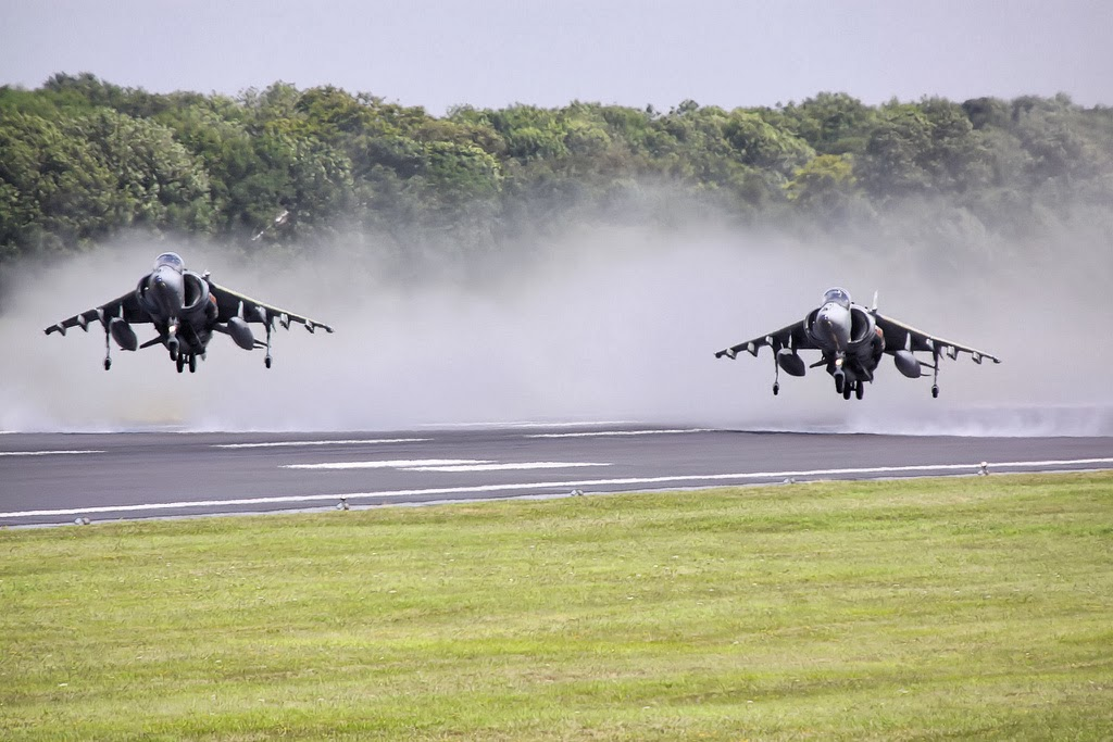 Harrier Conventional Take-off