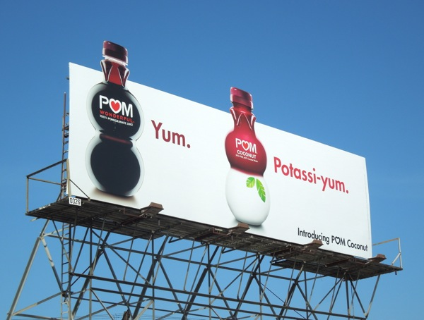 Pom Coconut special extension billboard