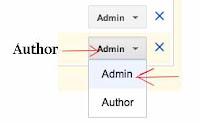 remove admin blog