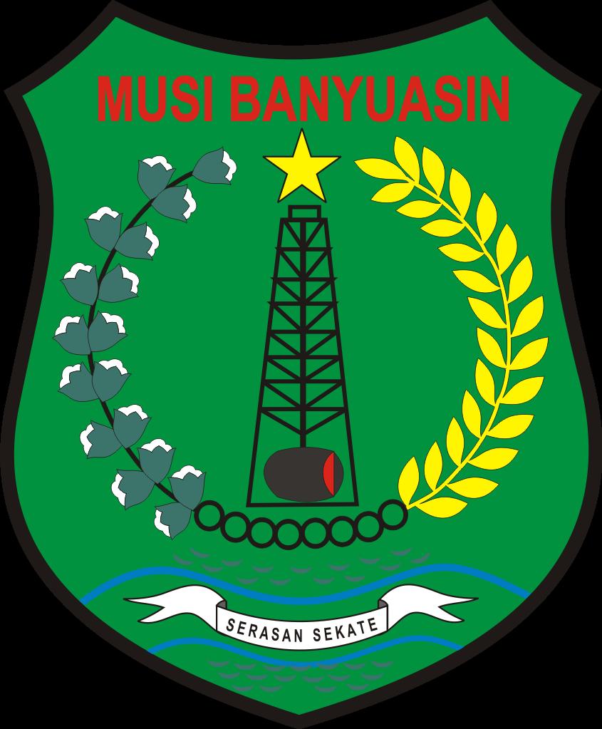 Logo Kabupaten Musi Banyuasin Logo Lambang Indonesia