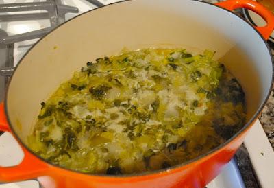 Суп из водяного кресса