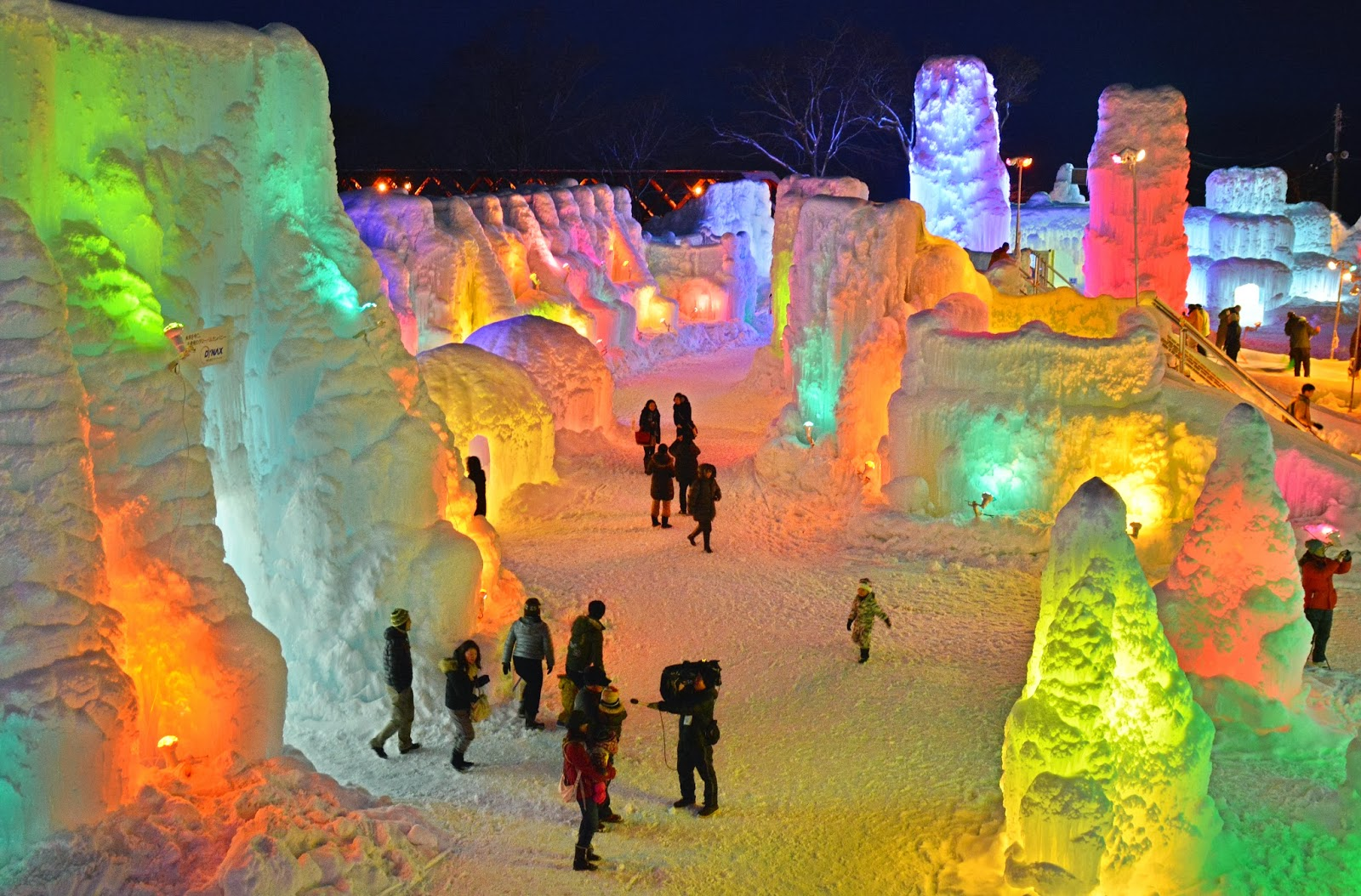 Chitose-Lake Shikotsu Ice Festival in Pictures