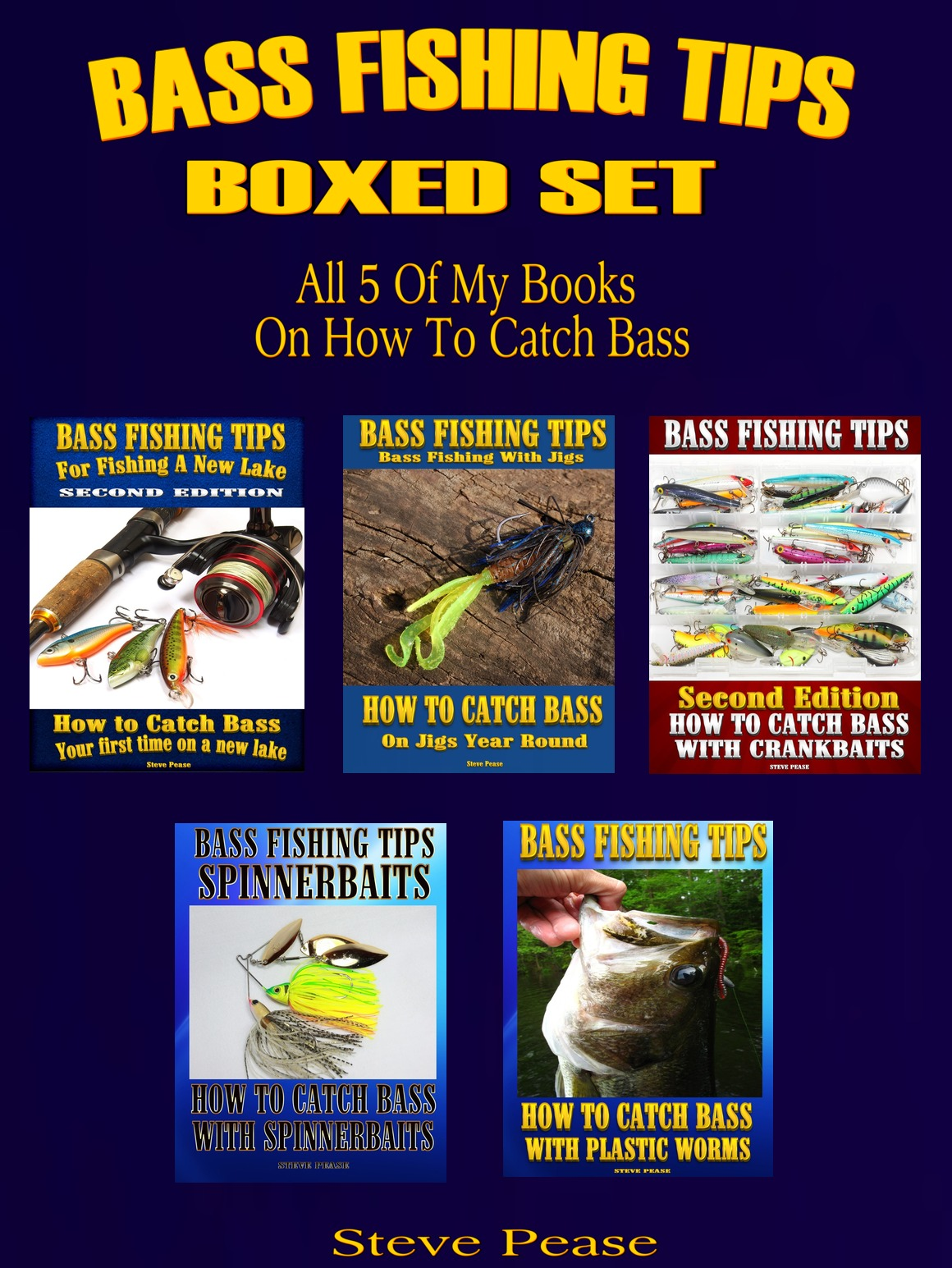 BASS FISHING BOX SET