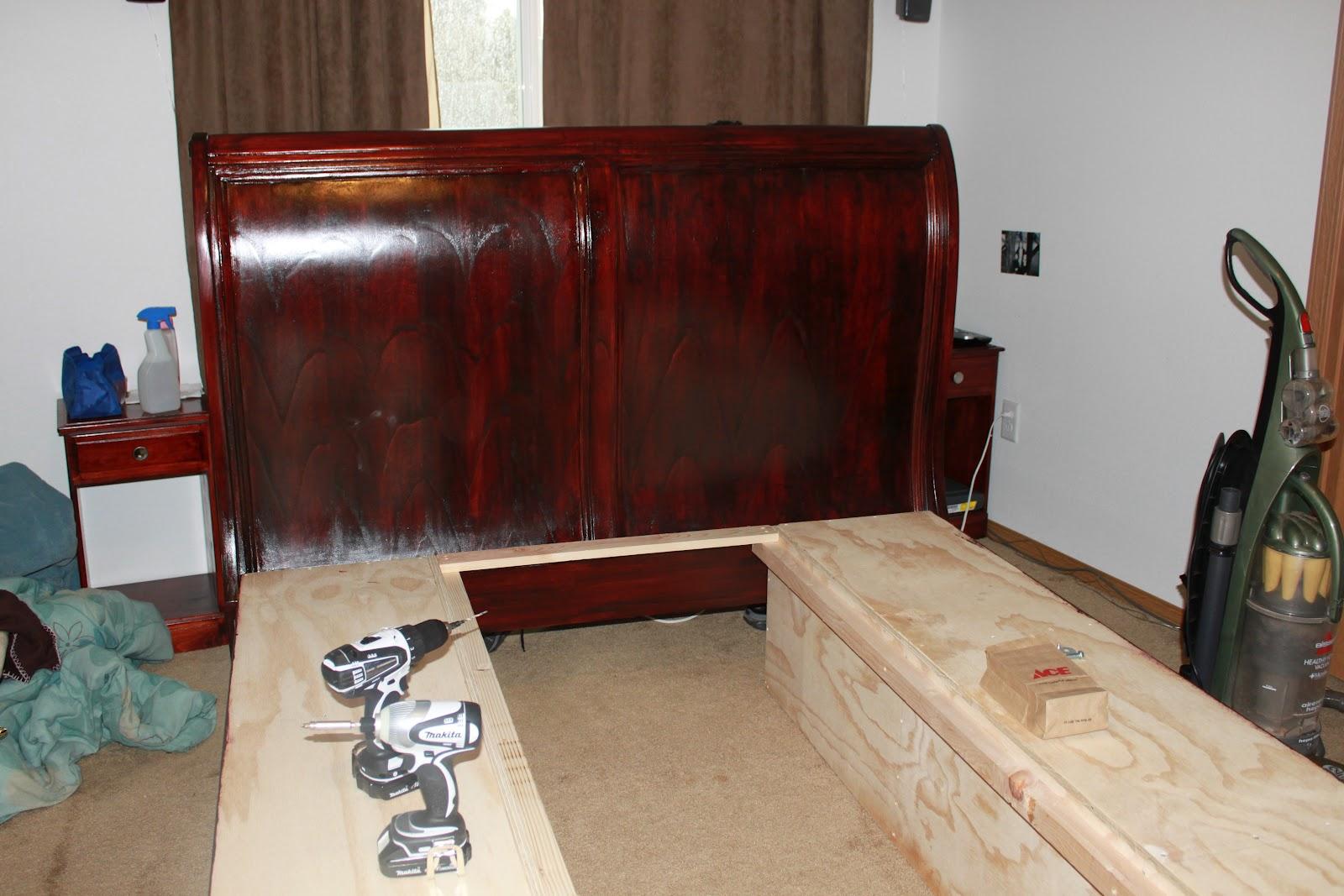 Attirant Finished Bed