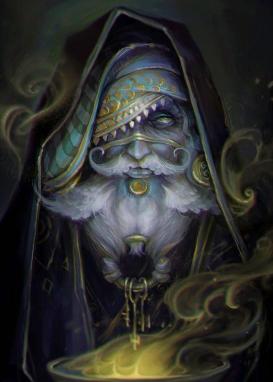 Helen Rusovich aka Lena Richards oione deviantart ilustrações fantasia sombria