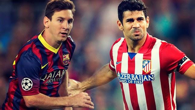 Diego Costa Leo Messi Atlético Madrid Barcelona campeón Liga 2013 2014