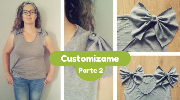 Moda diy customizar ropa aprender manualidades es - Decorar camisetas basicas ...