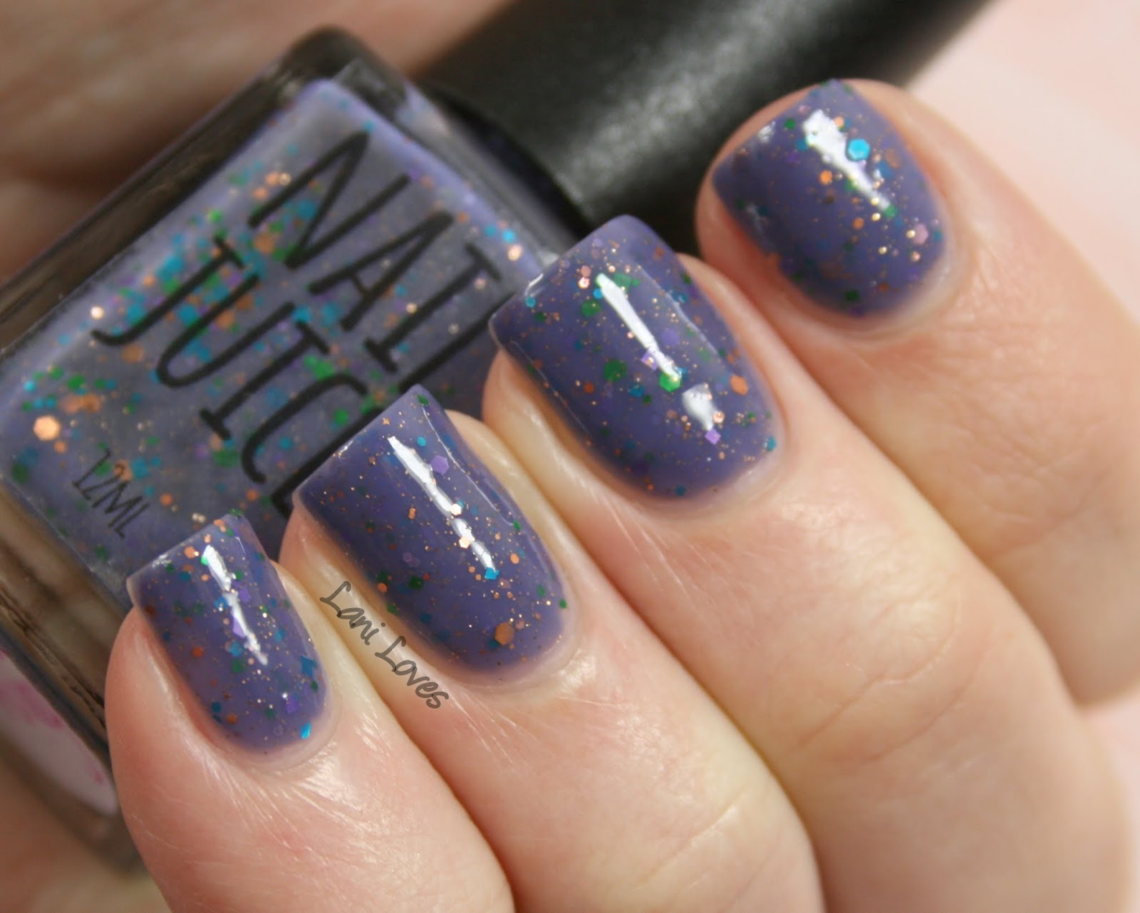 Star dust nail lacquer guerlain 25 - Nail Juice Fairy Dust Nail Polish Swatches Review