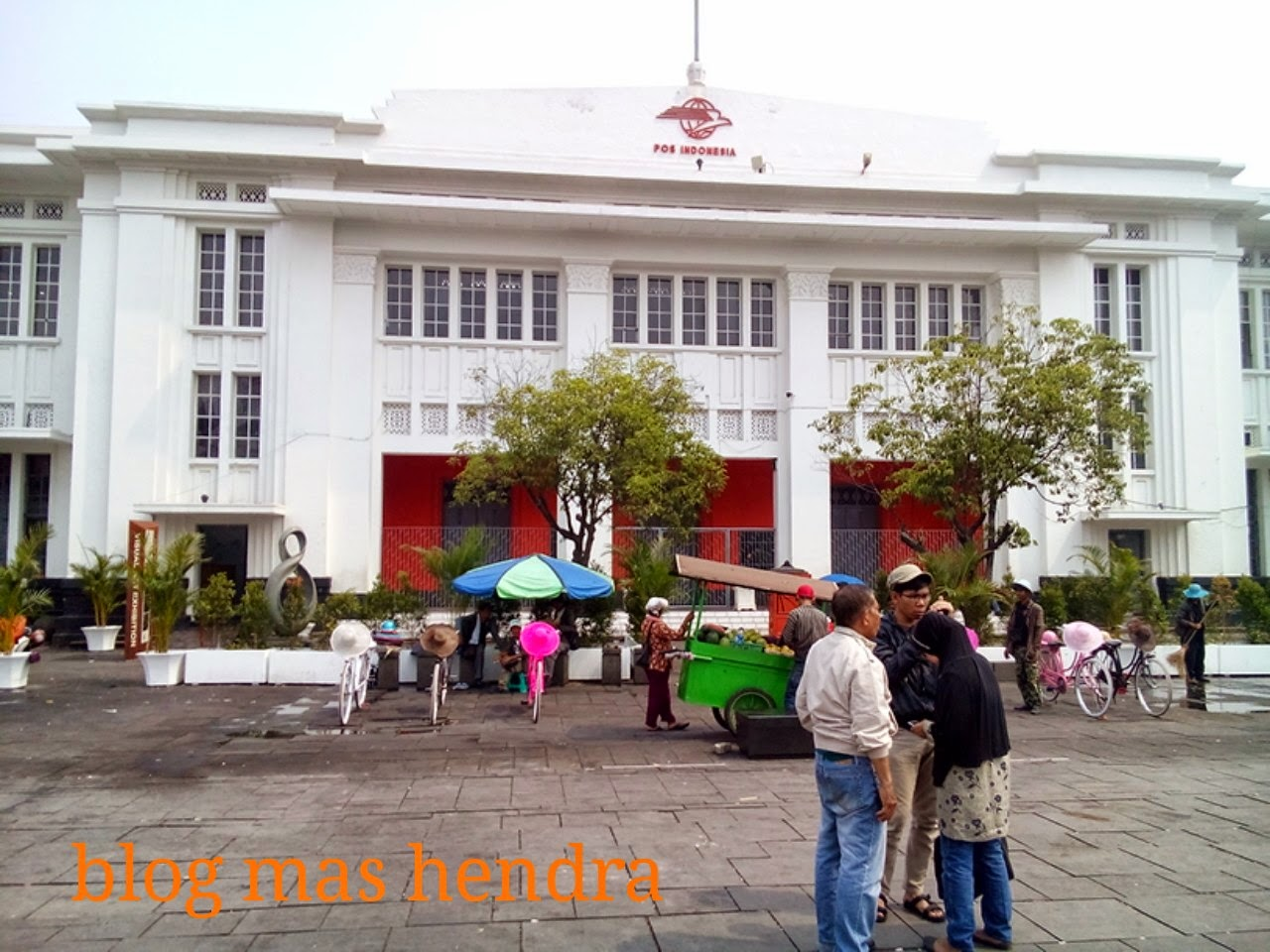 Indonesian post office museum in Kota Tua