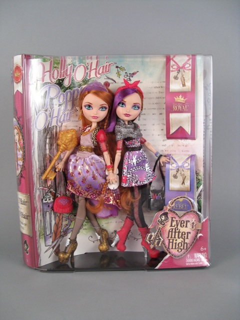 Ever After High Toy Box : Holly o hair and poppy by ever after high the