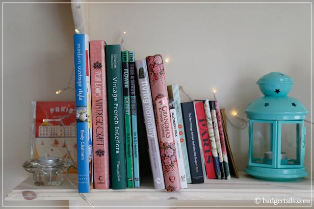 Craft & Home Books on Bookshelf