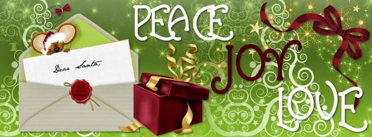Peace Joy Love Christmas Cover Photo
