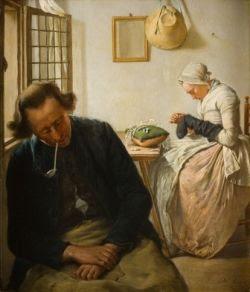 schilderij moeder en kind