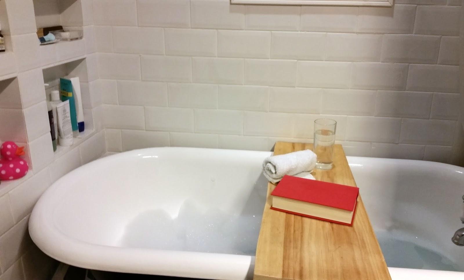 Fresh Coat of Paint: DIY Bath Table