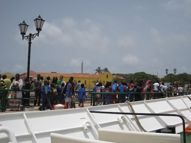 Embarcadero en Gorée