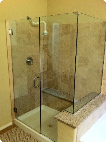 Custom Frameless Shower Glass Doors | Seattle Bellevue Issaquah WA