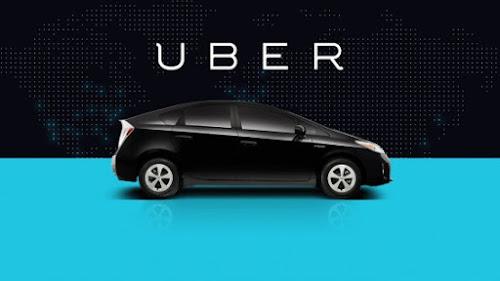 Nova atualização do Uber