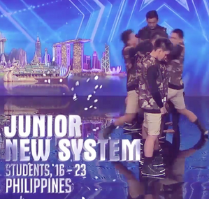 Photo Junior New System Asia's Got Talent 2015