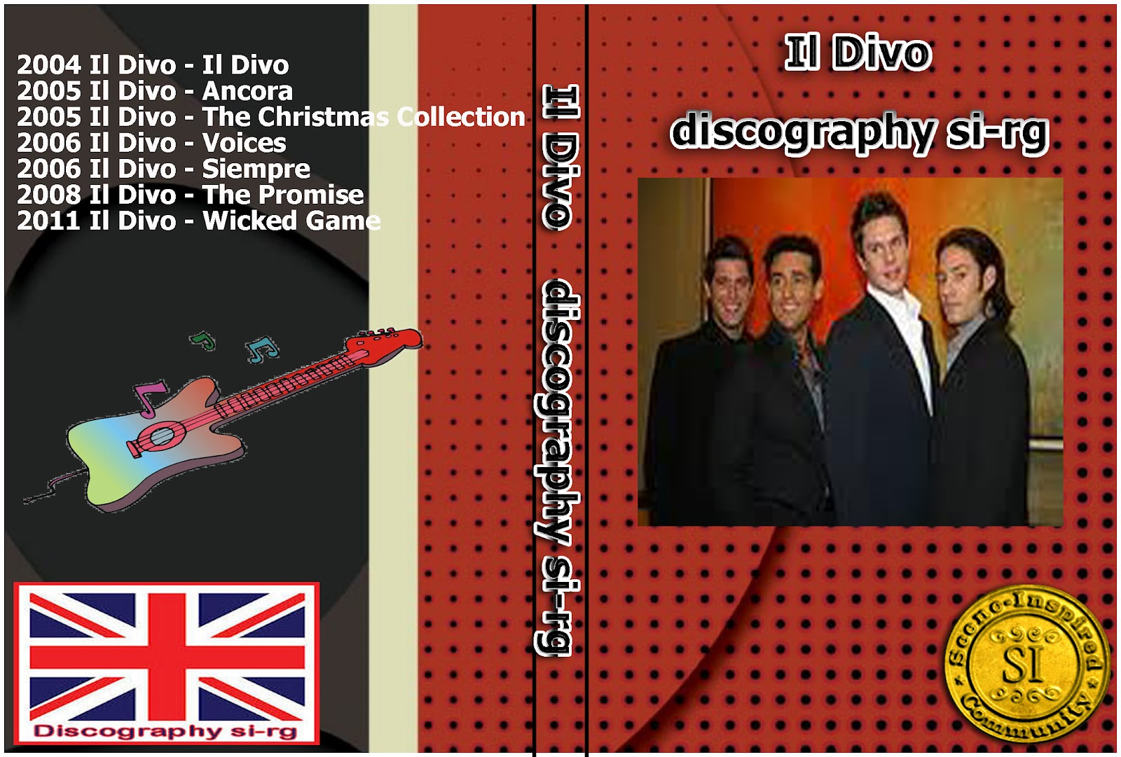 Si rg goldenbar july 2012 - Il divo christmas album ...