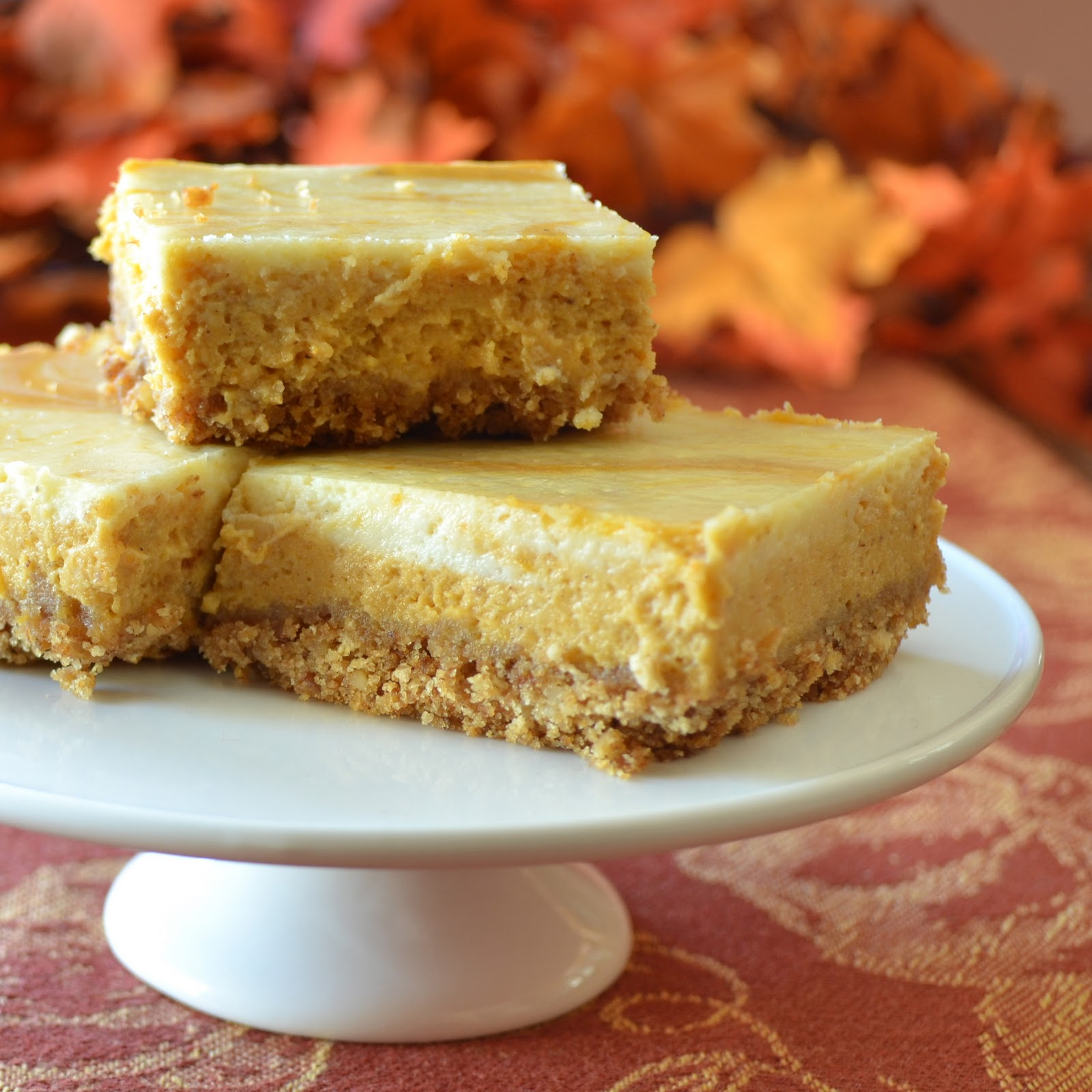 Kitchen Catharsis: Pumpkin Cheesecake Squares