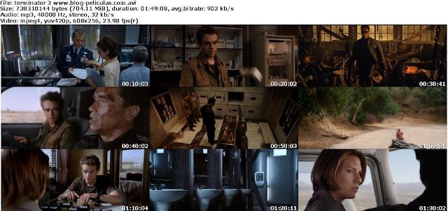 Terminator 3 dvdrip latino