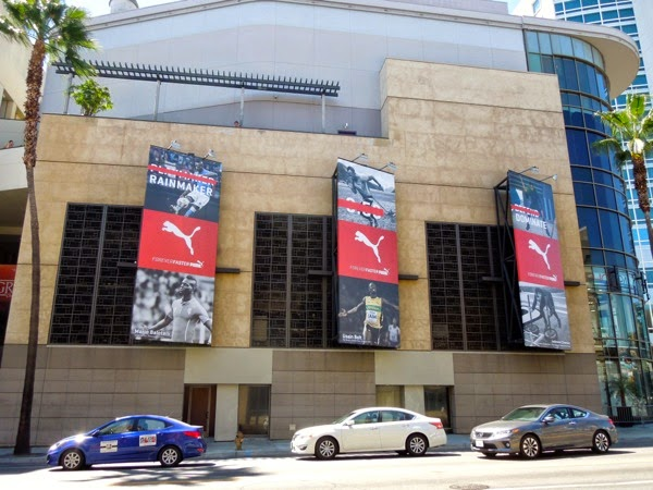 Puma Forever Faster billboards