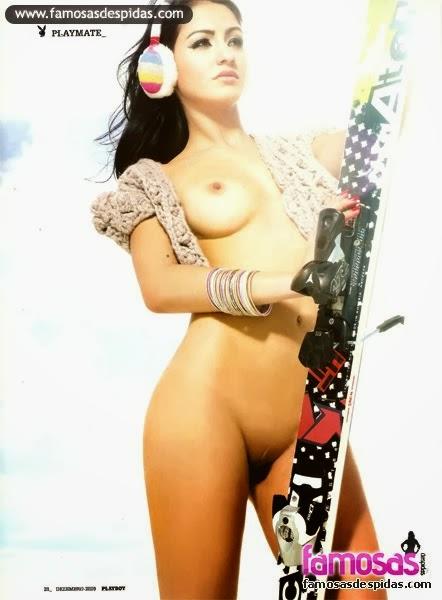 Doriana Sousa nua para a Playboy