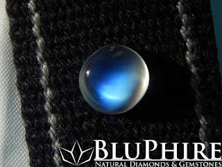 2.67 carat blue moonstone