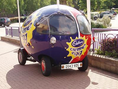 Creme Egg Car