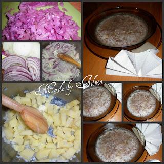 Supa de varza acra cu cartofi
