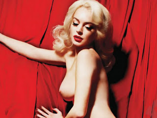 Lindsay Lohan naked Playboy Magazine cover girl January 2012 12xUHQ