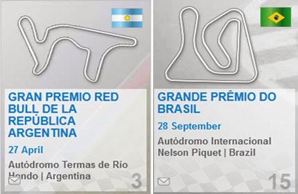 Circuit Argentina Brazil