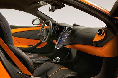 2016 McLaren 570S Interior