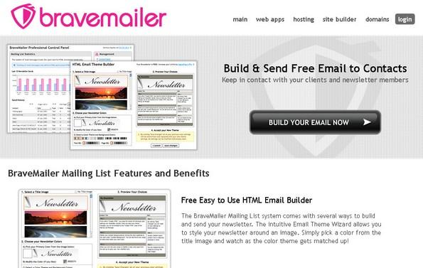 BraveMailer Newsletter service