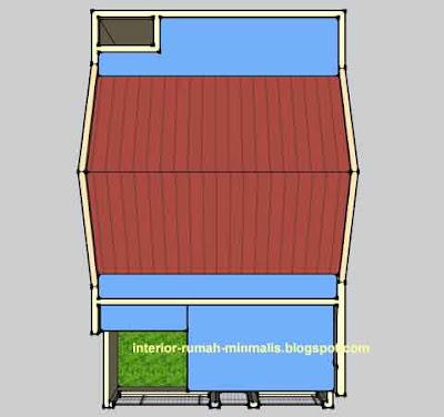 Desain Rumah Minimalis KPR BTN Type 21/60 04